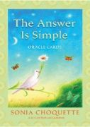 Answer Is Simple Oracle Cards - Sonia Choquette